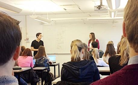 Alexander och Cecilia föreläser på VRG Odenplan
